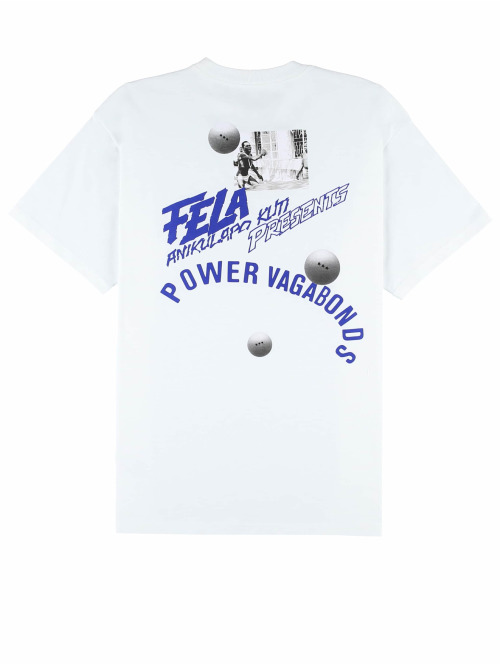 Carhartt WIP T-Shirt Power Vagabonds weiß