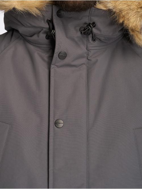 Carhartt WIP Winterjacke Anchorage grau