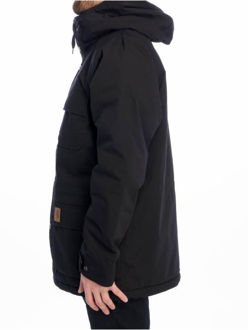 Carhartt WIP Winterjacke Mentley schwarz