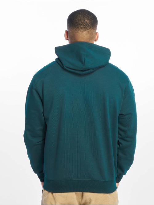 Carhartt WIP Zip Hoodie Label blau