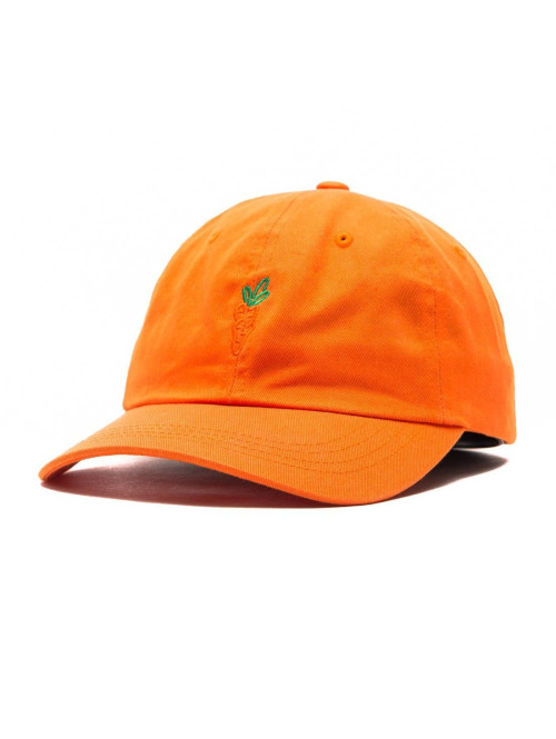 Carrots Fitted Cap Logo Dad Hat Fitted orange
