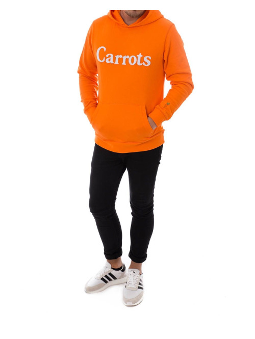 Carrots Hoody Wordmark orange