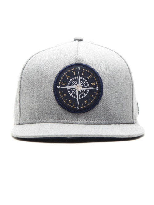 Cayler & Sons Fitted Cap CL Navigating grau