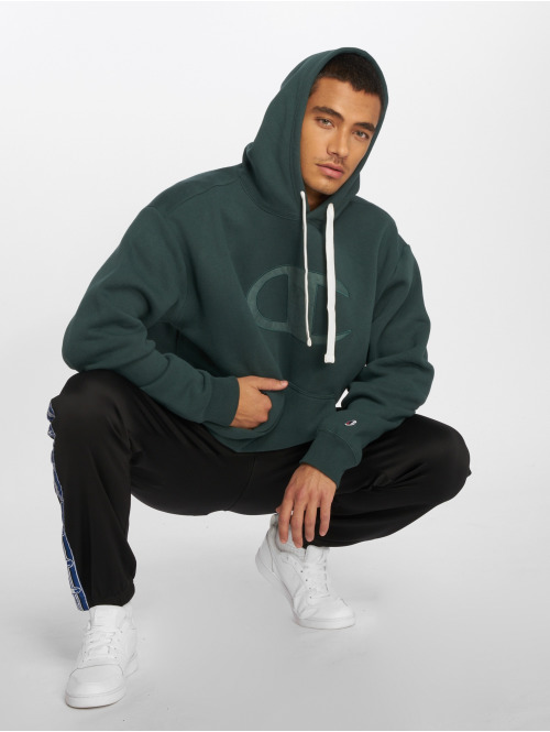 Champion Athletics Hoody Over Zone grün