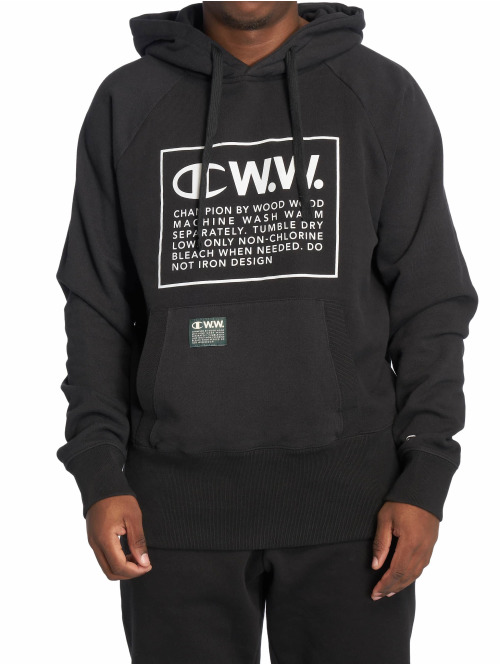 Champion Hoody by Wood Wood Ed Hooded schwarz