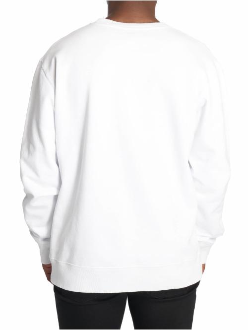 Champion Pullover by Wood Wood Mike Crewneck Sweatshirt weiß