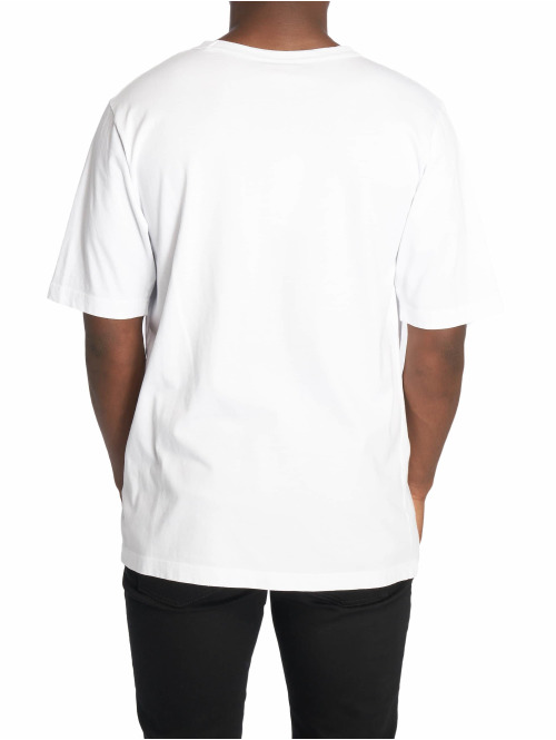 Champion T-Shirt by Wood Wood Rick Crewneck weiß