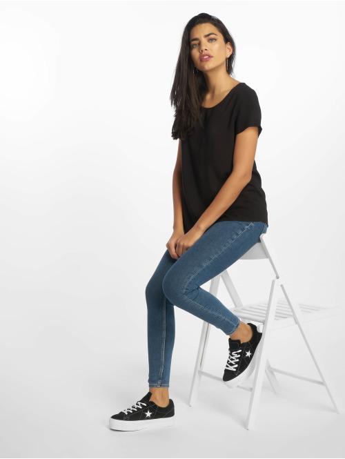Cheap Monday Skinny Jeans High Spray Norm blau