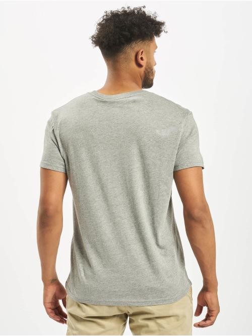 Cheap Monday T-Shirt Standard Tiny Skull grau