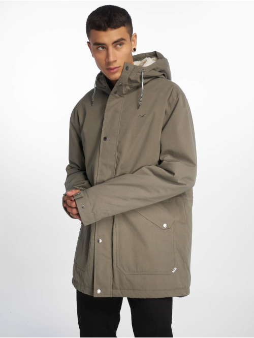 Cleptomanicx Winterjacke Larum olive