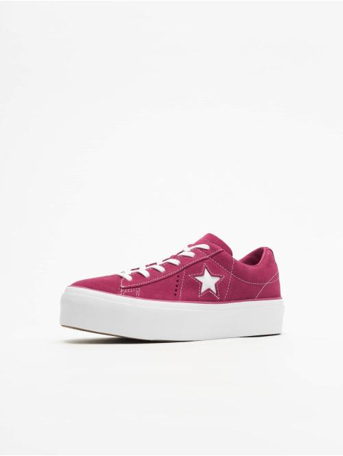 Converse Sneaker One Star Platform Ox pink