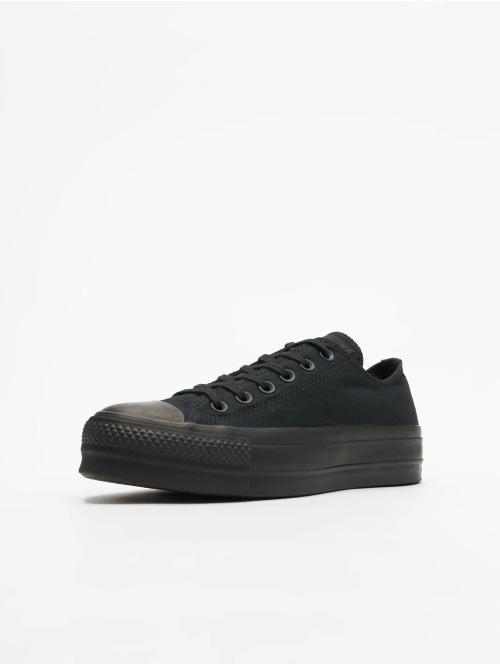 Converse Sneaker Chuck Taylor All Star Clean Lift Ox schwarz