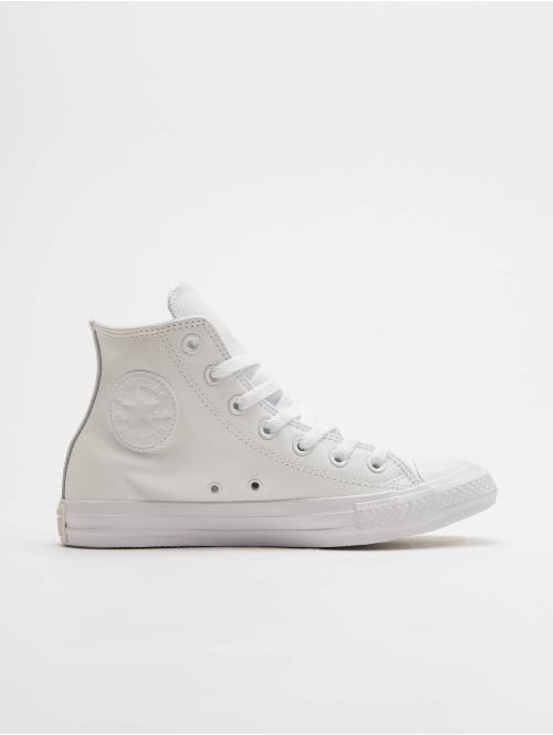 Converse Sneaker Chuck Taylor All Star Leather Hi weiß