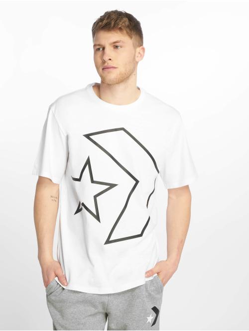 Converse T-Shirt Tilted Star Chevron weiß