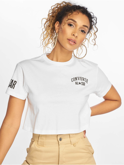 Converse T-Shirt All Star weiß