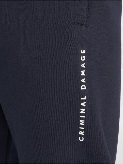 Criminal Damage Jogginghose Hyde blau