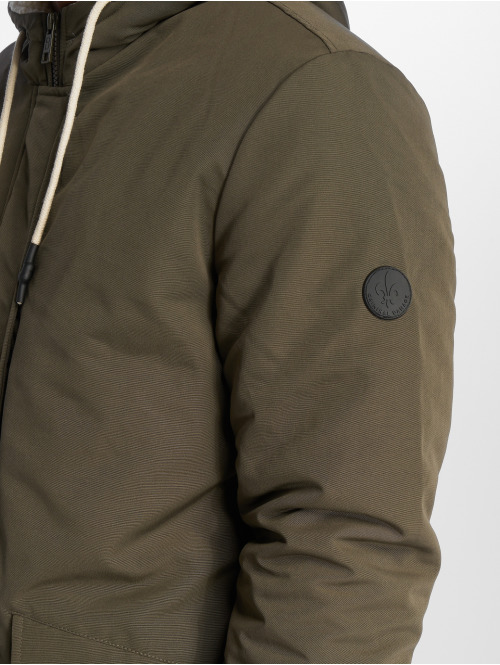 Criminal Damage Parka Barrow olive