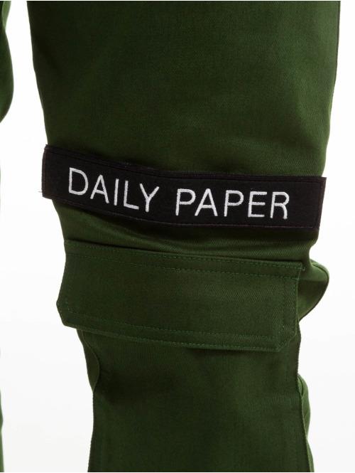 Daily Paper Cargohose Klett Logo olive