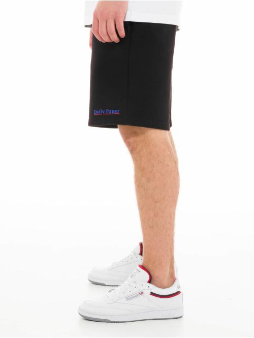 Daily Paper Shorts Essential Fleece schwarz