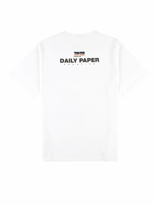 Daily Paper T-Shirt Fadwa 9 weiß