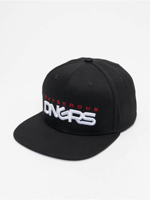 Dangerous DNGRS Casquette Snapback & Strapback  Base Snapback Cap Black/...