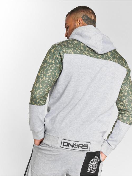 Dangerous DNGRS Hoody Broker grau