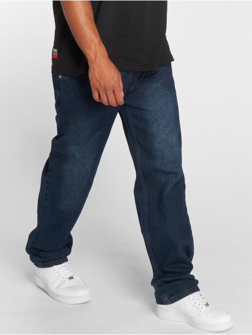 Dangerous DNGRS Loose Fit Jeans Brother blå