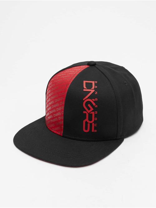 Dangerous DNGRS snapback cap  Tower Snapback Cap Black...