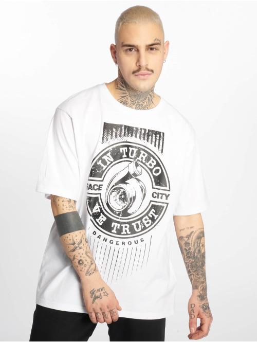Dangerous DNGRS T-Shirt Trustboost weiß