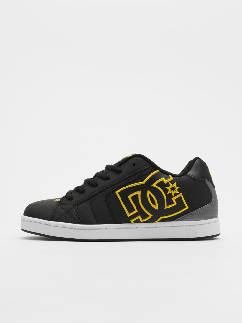 DC Sneakers  Net Sneakers Black/Golde...