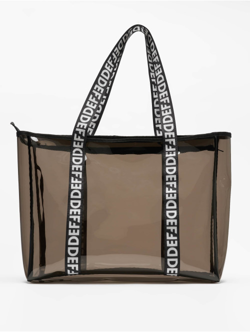 DEF Sac  Clear Shopper Bag Black...