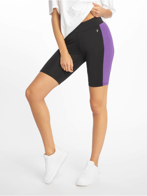 DEF Short  Cycle Shorts Black Viole...