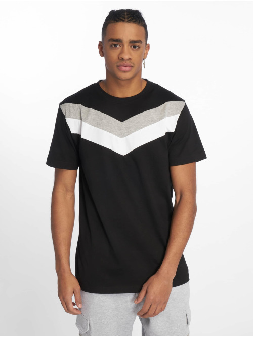 DEF T-Shirt  Chevron T-Shirt Black Gr...