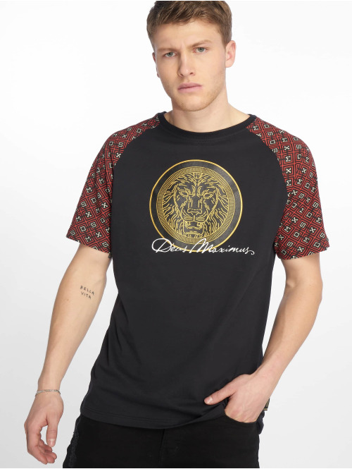 Deus Maximus T-Shirt  Harendotes Black/Red...