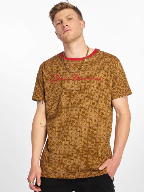 Deus Maximus T-skjorter  Venturini T-Shirt Beige ...