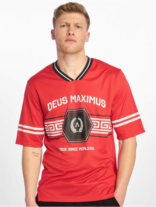 Deus Maximus T-skjorter  Thesus T-Shirt Red...