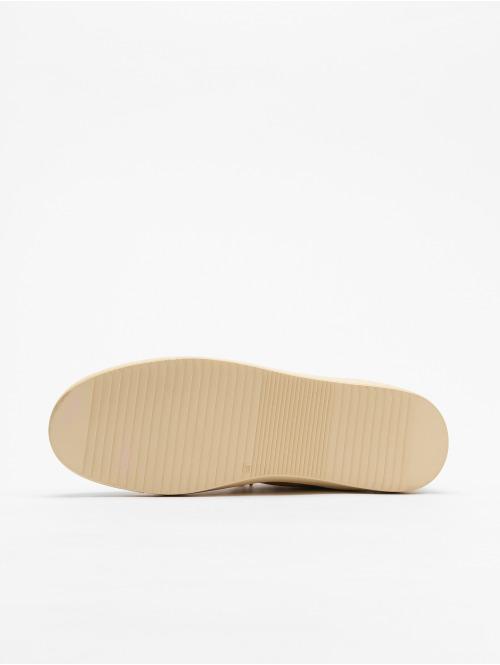 Djinns Sneaker Trek High Fur P-Leather beige