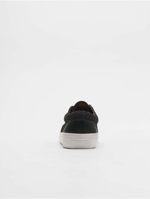 Djinns Sneaker Nice Wov Spot schwarz