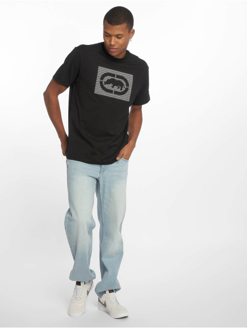 Ecko Unltd. Loose Fit Jeans Globe Grid Loose Fit blau