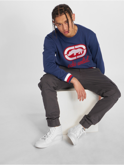 Ecko Unltd. Pullover Oliver Way blau