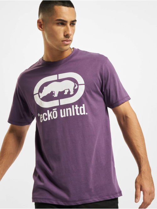 Ecko Unltd. T-Shirt  John Rhino T-Shirt Purpl...