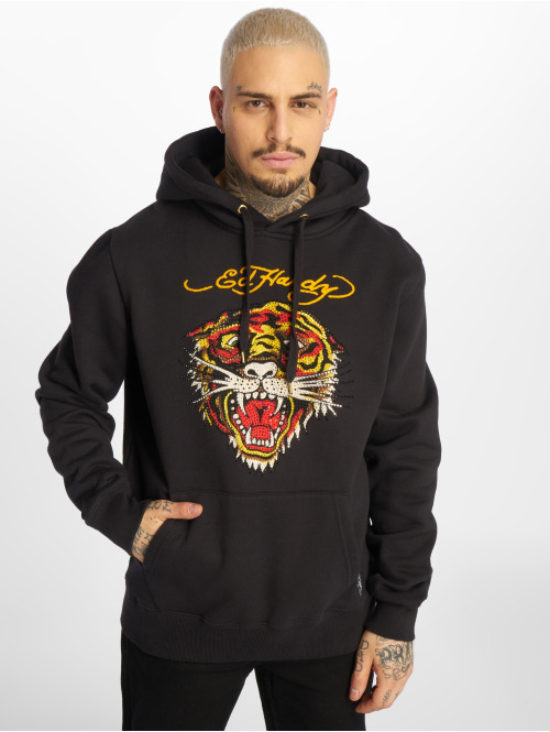 Ed Hardy Hoody Tiger schwarz