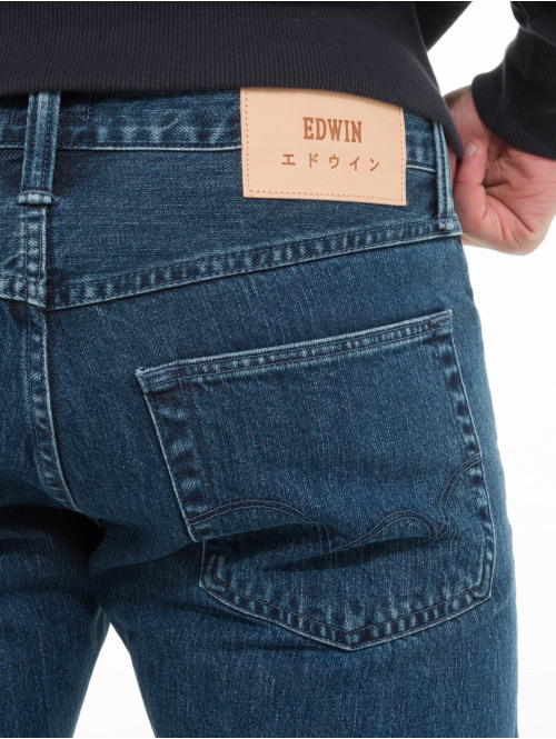 Edwin Straight Fit Jeans Ed-55 blau