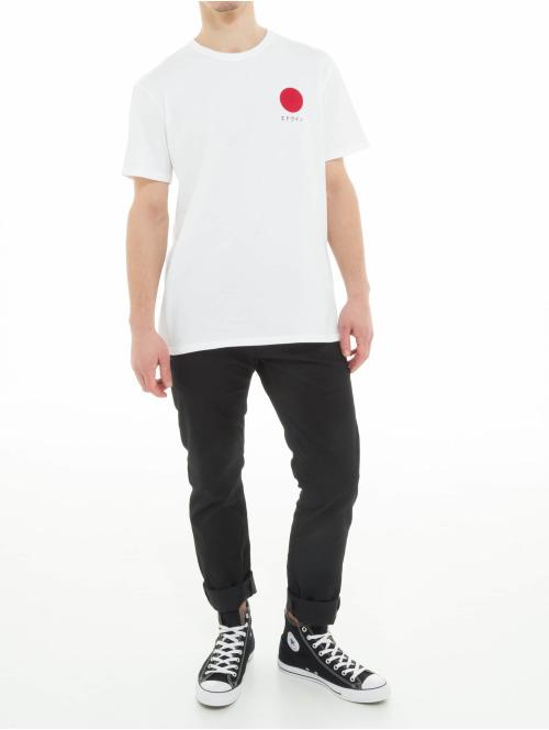 Edwin T-Shirt Japanese Sun weiß