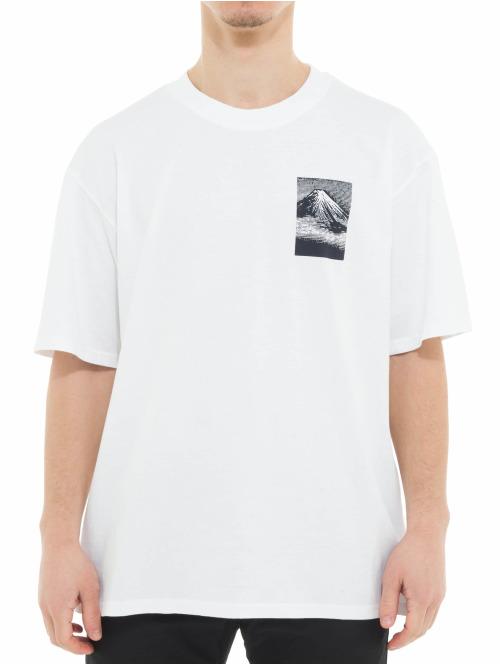 Edwin T-Shirt From MT Fuji weiß