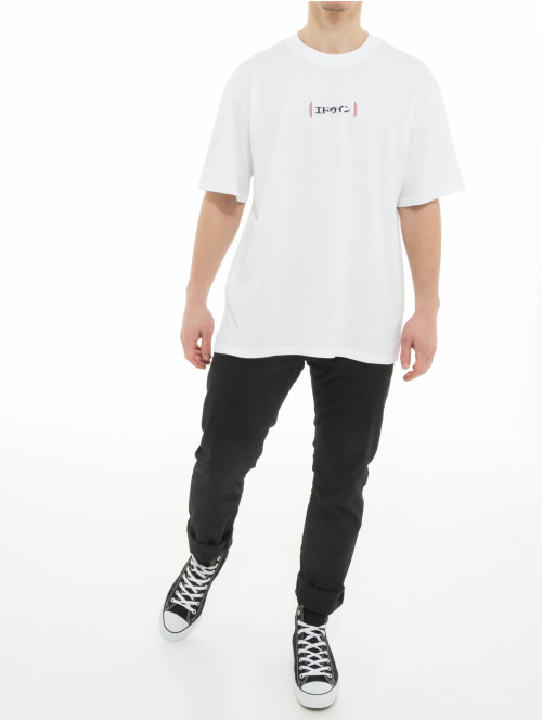 Edwin T-Shirt Aurora weiß