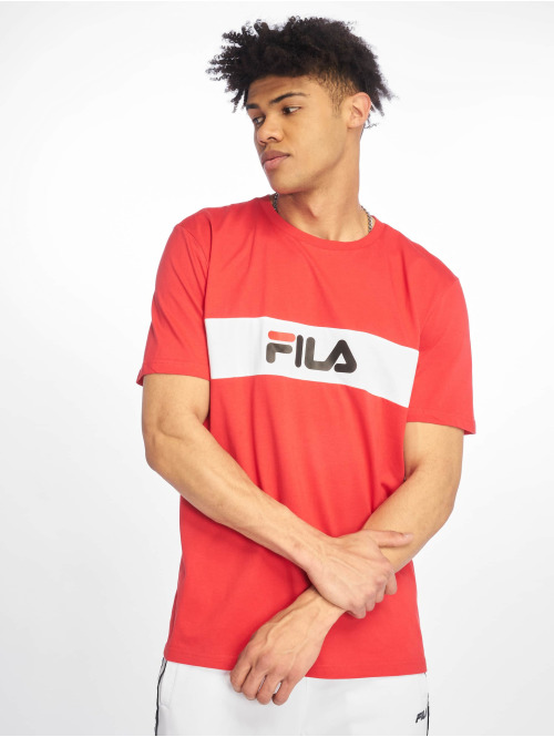 FILA T-Shirt Line Nolan rot