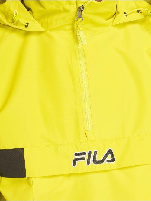 FILA Übergangsjacke Timmothy Woven gelb