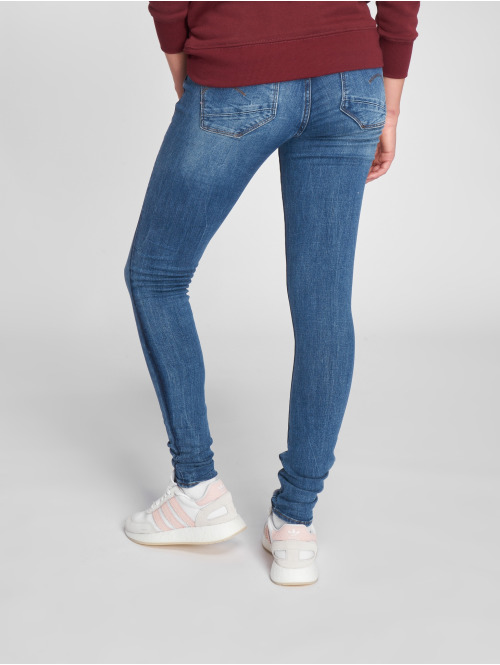 G-Star Skinny Jeans Lynn D-Mid Trender Ultimate Stretch Denim Super Skinny blau