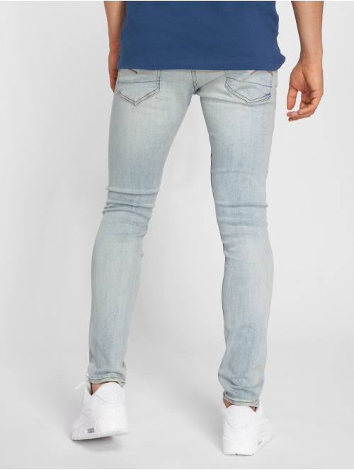 G-Star Skinny Jeans 3301 Elto Superstretch Deconstructed blau